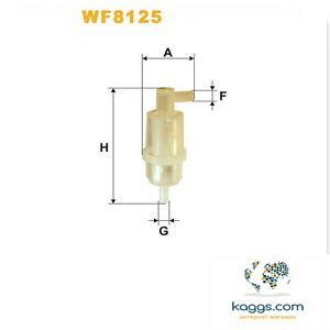 Фильтр очистки топлива WIX wf8125 для автомобилей Daewoo, Mercedes