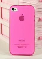 Cтильный силиконовый чехол для iPhone 4/4s