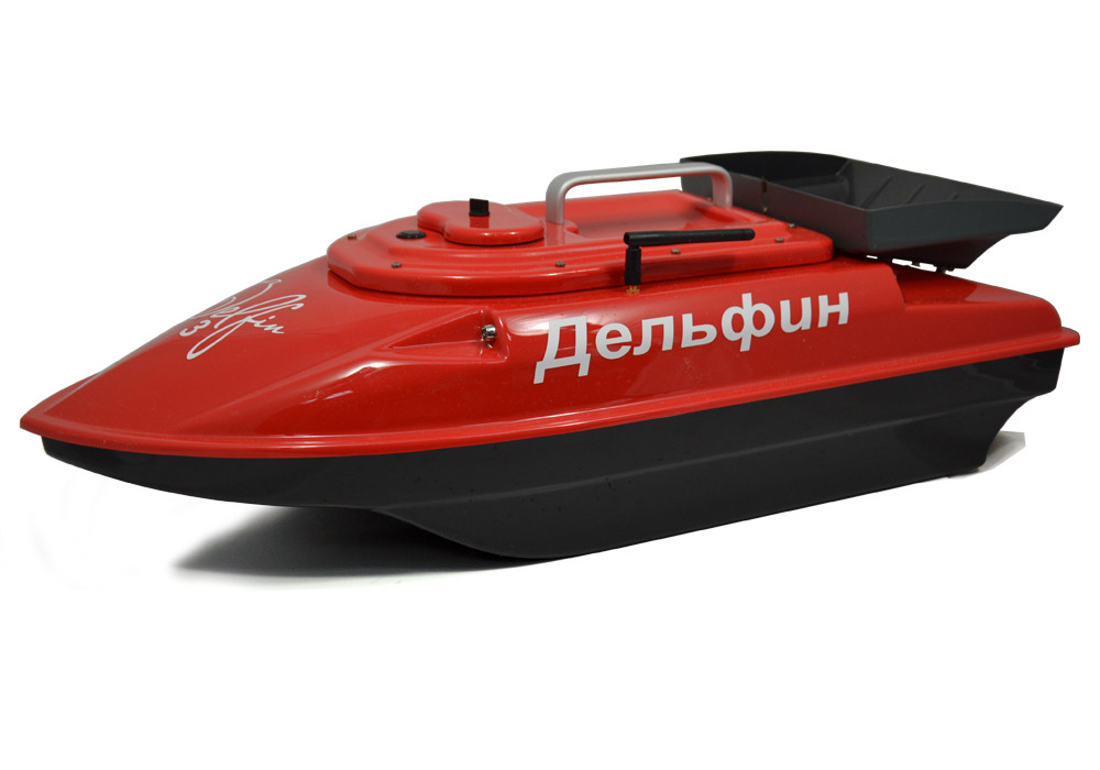 Кораблик для риболовлі Дельфін-3 з ехолотом Lucky FF 718 Li-w і GPS