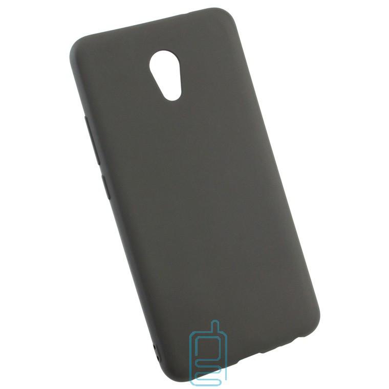 Силиконовый чехол Meizu M5 Note черный