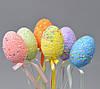 Пасхальный декор яйца со стразами 24х4 см (PD1908)