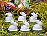 Свеча Кролики 5х4 см (N8182)