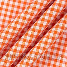 Декор клетка мелкая оранжевый 106634