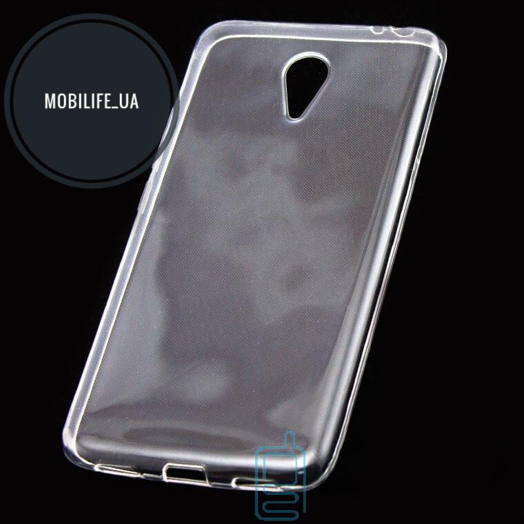 Силиконовый чехол Meizu M5 Note прозрачный
