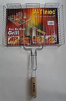 Решетка для гриля- барбекю сетка с бортом S676