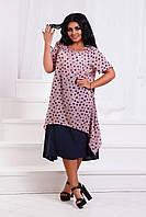 Платье женское большие размеры /д1375, фото 1