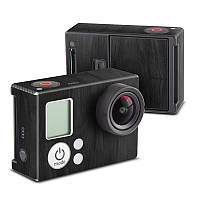 GoPro Hero3 Skin - Black Woodgrain