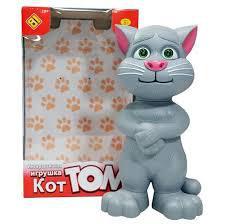 Интерактивная игрушка Говорящий кот Том