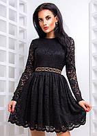 Женское кружевное платье в стиле baby doll 42-44 р