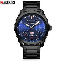 Часы наручные мужские CURREN black 0123