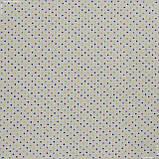 Панама принт  горошек цветной/ botones 117443, фото 2