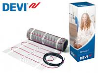 Нагревательный одножильный мат DEVImat DSVF-150 137/150 Вт, 1м2  Дания