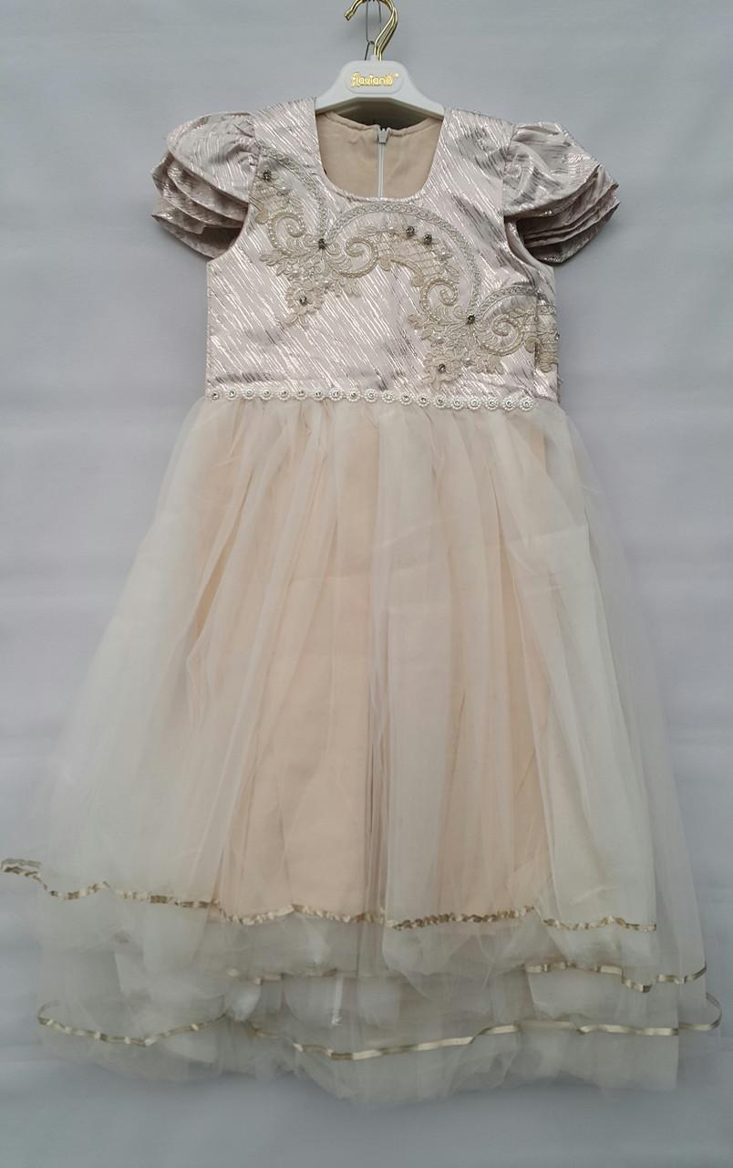 aa5796a36bd Нарядное платье на девочек 7-8-9-10 лет Мария - КАЧЕСТВЕННАЯ ТУРЕЦКАЯ