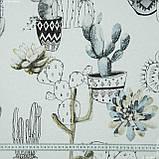 Декоративная ткань каюко/cayuco  цветуций кактус 145537, фото 2