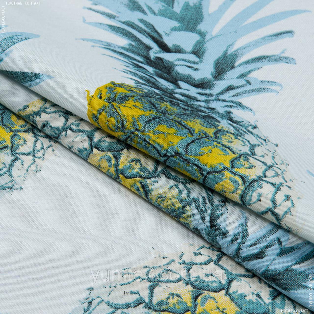 Декоративная ткань трина /trina  ананасы 145545