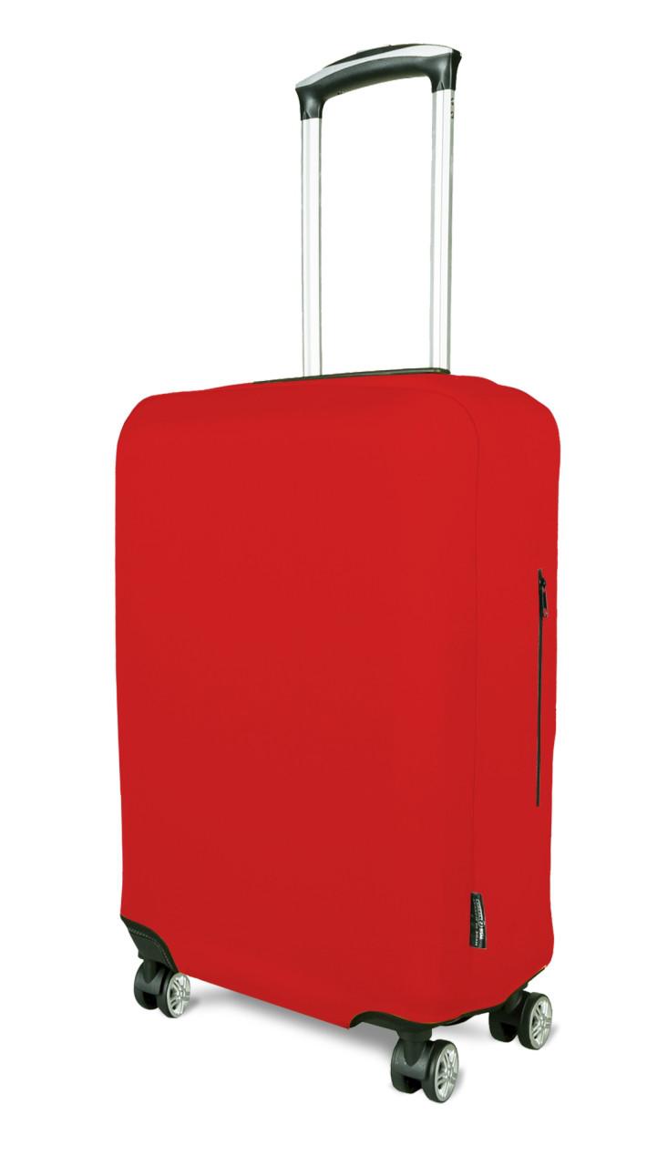 Чохол для валізи Coverbag неопрен L червоний