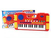 Піаніно синтезатор SD984-A на батарейки, музичний, в коробці 36*19см