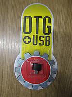Адаптер OTG USB-micro USB (black)
