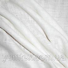 Тюль кисея миконос молочный/крем  109193