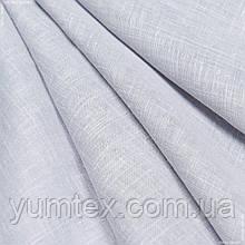 Тюль кисея миконос серый 129781