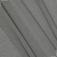 Тюль батист вишью серо-коричневый 140721