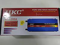 Преобразователь  напряжения инвектор UKC SP-1200A чистая синусоида