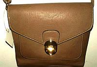 Маленькая женская сумочка коричневого цвета, фото 1