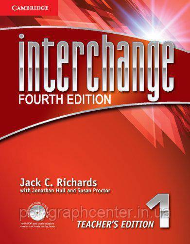 Interchange 1  Комплект (Учебник + Тетрадь) Цветная Копия!