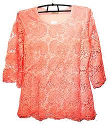 Блуза ажурная Польша №40 размер L\XL очень красивая