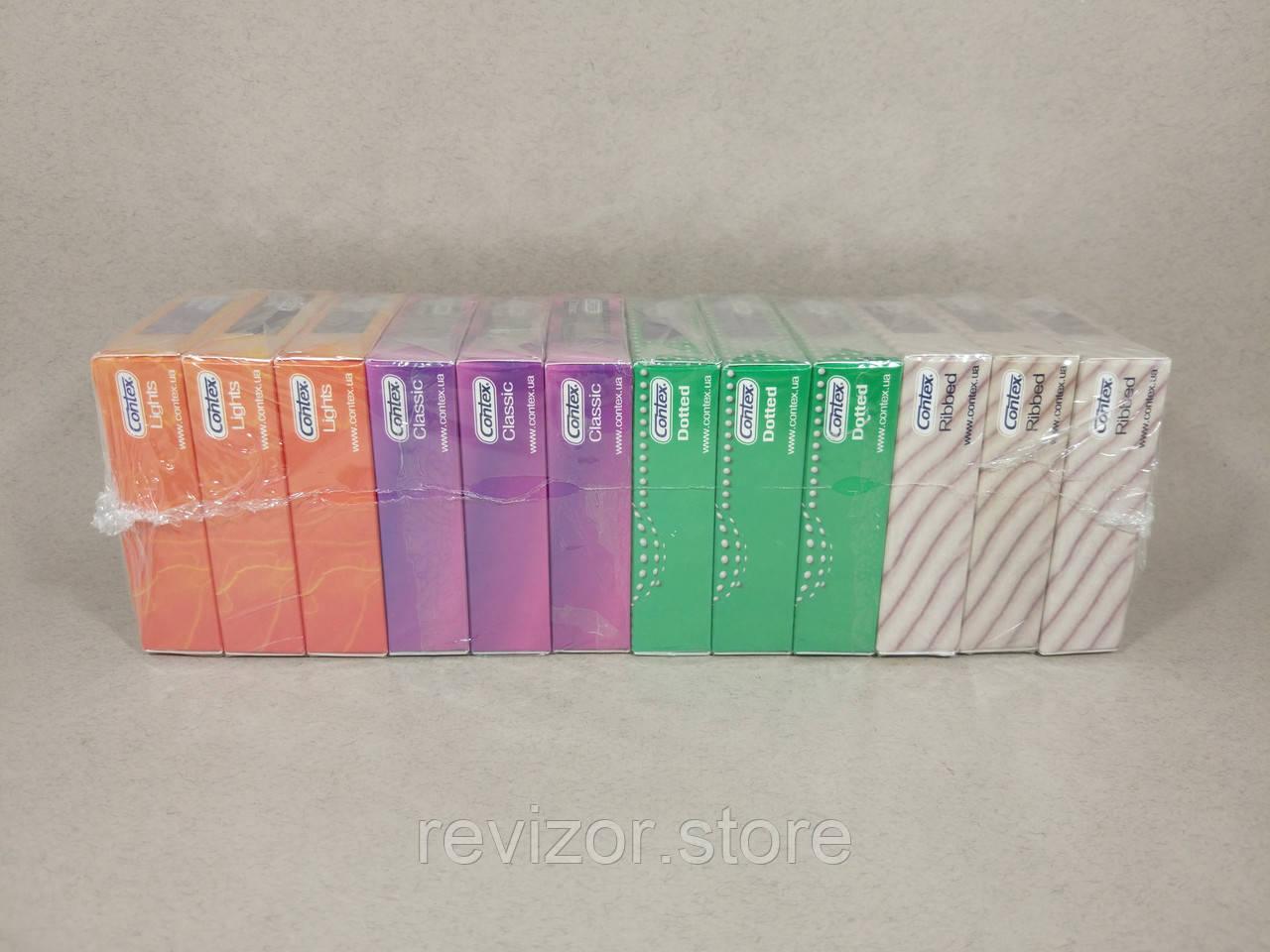 Презервативы в ассортименте 12уп - Contex, фото 1