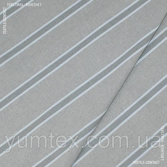Декор смуга консорде сірий-натур. льон 122187