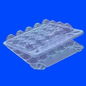 Упаковка для перепелиных яиц 20 шт., 155х150х40 мм. из полистирола ПС-111