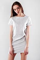 Женское вышитое платье ручной работы «Нежная» , фото 1