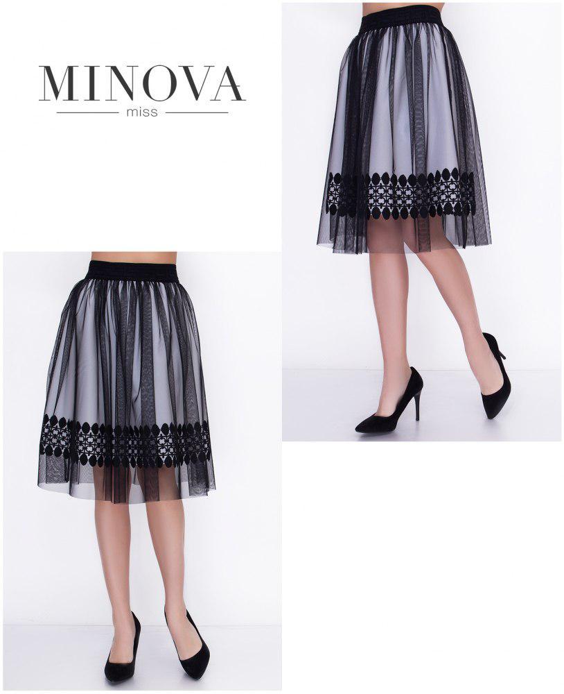 Двухслойная юбка-пачка на талии(размеры 42-46) 0073-63