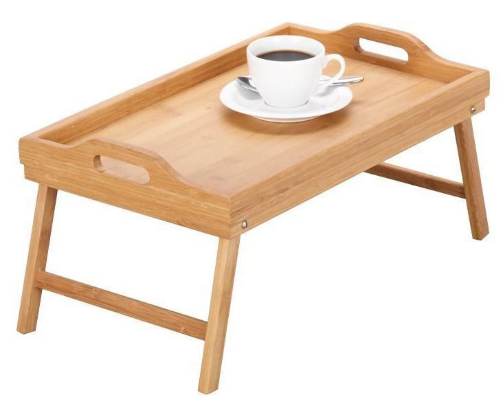 Бамбуковый столик для завтрака (столик-поднос)