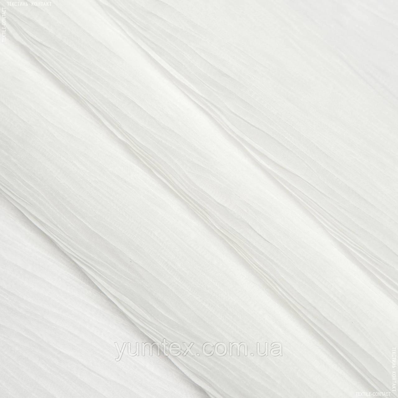 Органза плісе палма palma молочний 108168