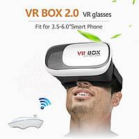 Очки виртуальной реальности VR BOX 2.0 + Джойстик, 3D шлем