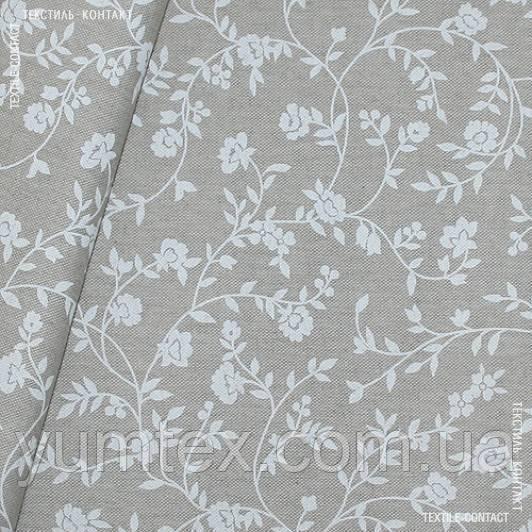 Декор афродіта квіткова в'язь фон натур.льон 126511