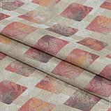 Декоративная ткань дарин/darien ромб розовый 145534, фото 3