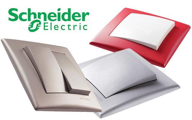 Schneider Electric розетки і вимикачі