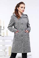 Женское демисезонное пальто Биргит размеры 42,44,46,48,50,52