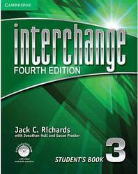 Interchange 3  Комплект (Учебник + Тетрадь) Цветная Копия!