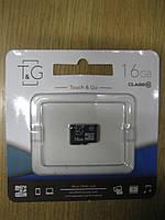 Карта пам'яті micro SD 16Gb (Class10)(T&G)(без адаптера)