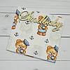 Пеленка хлопковая для новорожденных - 03