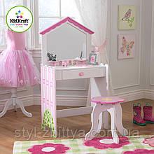 """Туалетний столик """"Будиночок"""" з кріслом від Kidkraft"""