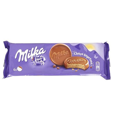 Печенье  Milka Choco Wafer 6*30 g, фото 2