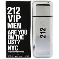 Carolina Herrera 212 VIP Men edt - 100ml tester (ОРИГИНАЛ)