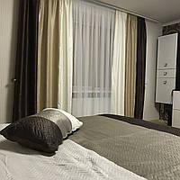 Комплект для спальни шторы+покрывало №333