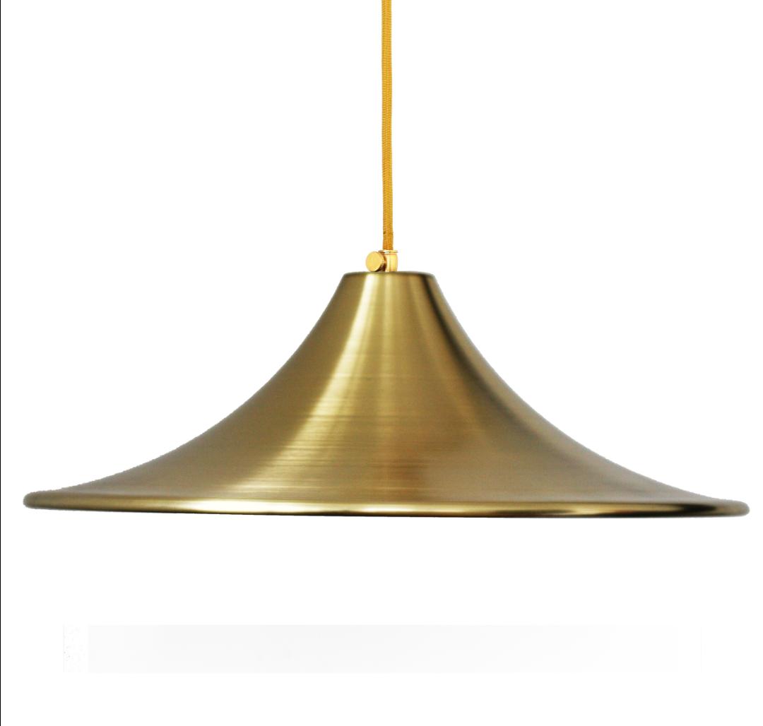 Лампа Подвесная Латунь