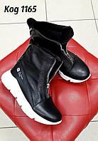 Кожаная модная обувь на весну